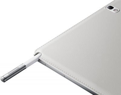 Планшет Samsung Galaxy Note 10.1 2014 Edition 16GB 3G White (SM-P601) - разъем для хранения стилуса