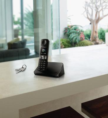 Беспроводной телефон Philips D6001B/51 - общий вид