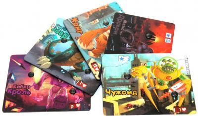 Настольная игра Мир Хобби Повелитель Токио / King of Tokyo - игровые карточки