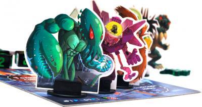 Настольная игра Мир Хобби Повелитель Токио / King of Tokyo - игровые фигурки
