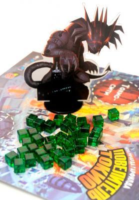 Настольная игра Мир Хобби Повелитель Токио / King of Tokyo - игровая фигурка