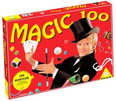 Настольная игра Piatnik 100 Фокусов / Magic 100 - коробка