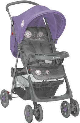 Детская прогулочная коляска Lorelli Star (Gray Violet Dandelion) - общий вид