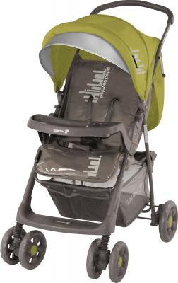 Детская прогулочная коляска Lorelli Star (Beige-Green Beloved Baby) - общий вид
