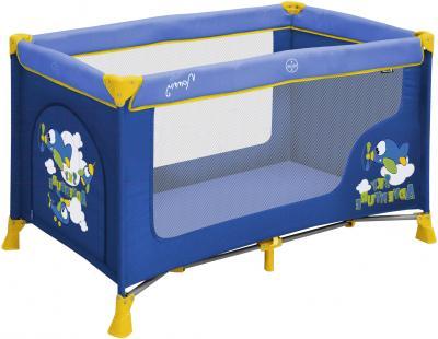 Кровать-манеж Lorelli Nanny 1 (Blue Sky Adventure) - общий вид