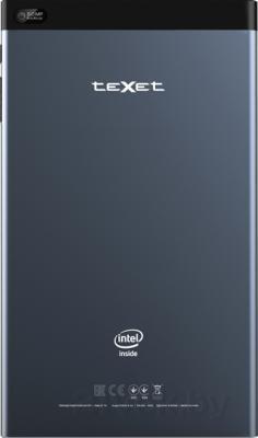 Планшет TeXet X-pad Force 8i / TM-8051 (16GB, 3G, индиго) - вид сзади