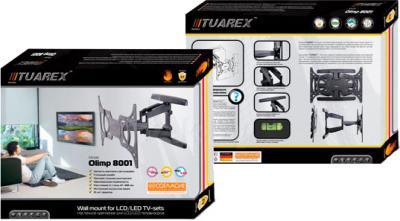 Кронштейн для телевизора Tuarex OLIMP-8001 (черный) - упаковка
