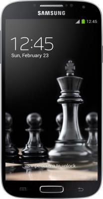 Смартфон Samsung I9505 Galaxy S4 (Black) - вид спереди