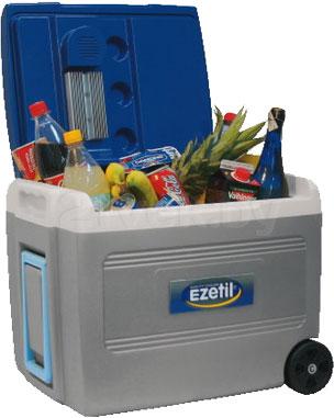 Автохолодильник Ezetil E55 RollCooler - с открытой крышкой