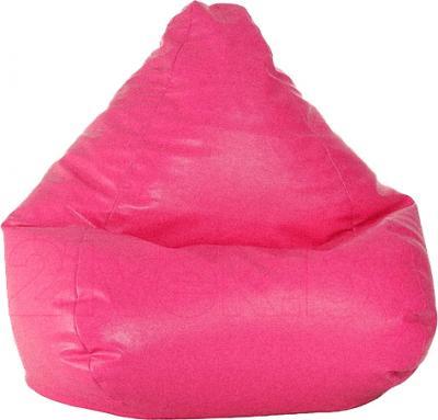 Бескаркасное кресло Baggy Груша Мега (розовое) - общий вид