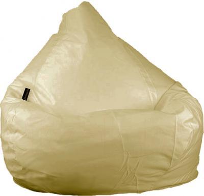 Бескаркасное кресло Baggy Груша Макси (темно-бежевое) - общий вид