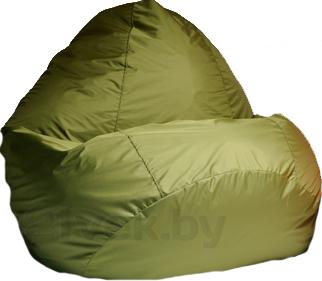 Бескаркасное кресло Baggy Груша Медиум (зеленое) - общий вид