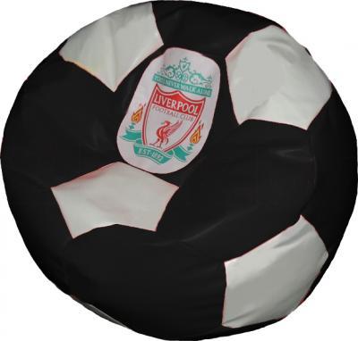 Бескаркасное кресло Baggy Футбольный мяч Стандарт (Ливерпуль) - общий вид