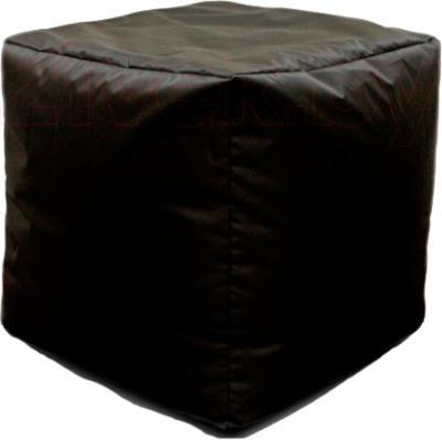 Пуфик Baggy Кубик (черный) - общий вид