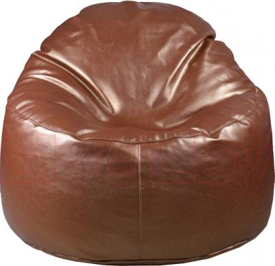 Бескаркасное кресло Baggy Персик (шоколадное-оттоман африка) - общий вид