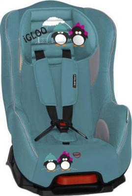 Автокресло Lorelli Pilot+ (Aquamarine Igloo) - общий вид