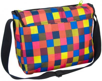 Молодежная сумка Paso 14-582A - вид сзади