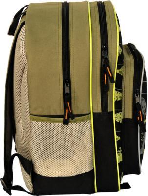 Школьный рюкзак Paso 13-162А (Beige) - вид сбоку