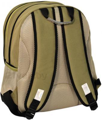 Школьный рюкзак Paso 13-162А (Beige) - вид сзади