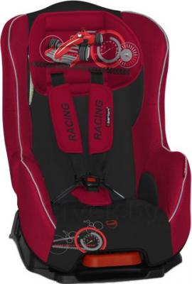 Автокресло Lorelli Pilot+ (Red Racing) - общий вид