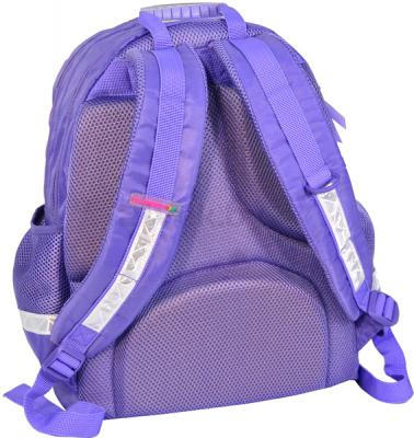 Школьный рюкзак Paso 24-275 - вид сзади