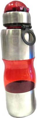 Спортивная бутылка NoBrand Comb (красный) - общий вид