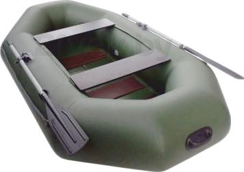 Надувная лодка Велес 01/245S - вид сзади