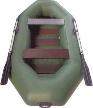 Надувная лодка Велес 01/245S - вид сверху
