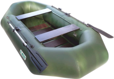Надувная лодка Велес 01/265S - вид сзади
