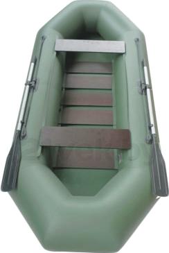 Надувная лодка Велес 01/300S - вид сверху