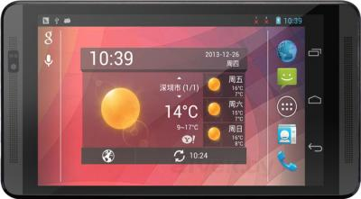 Планшет PiPO Talk-T4 (4GB, 3G, Black) - фронтальный вид