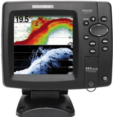 Эхолот-картплоттер Humminbird 597cxi HD Combo DI - общий вид