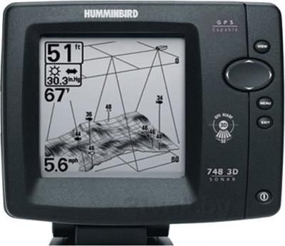 Эхолот Humminbird 748x 3D - общий вид
