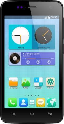 Смартфон Explay Vega (черный) - общий вид