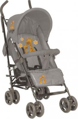Детская прогулочная коляска Lorelli Fiesta (Beige Giraffes) - общий вид