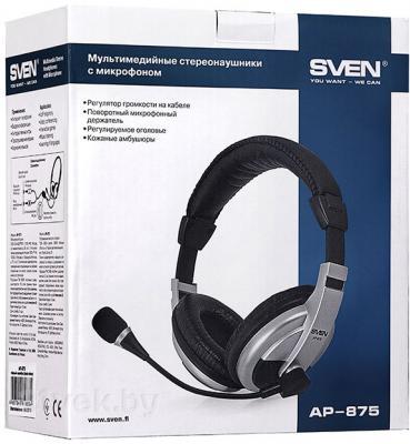 Наушники-гарнитура Sven AP-875 - упаковка