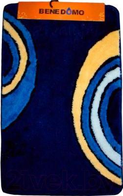 Коврик для ванной Benedomo 55х90 - общий вид (цвет уточняйте при заказе)
