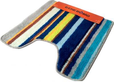 Коврик для туалета Benedomo 50х50 - общий вид (цвет  уточняйте при заказе)