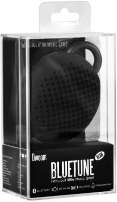 Портативная колонка Divoom Bluetune-BEAN (Black) - упаковка