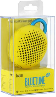 Портативная колонка Divoom Bluetune-BEAN (Yellow) - упаковка