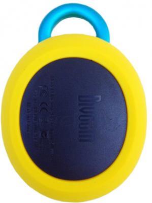Портативная колонка Divoom Bluetune-BEAN (Yellow) - вид сзади