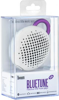 Портативная колонка Divoom Bluetune-BEAN (White) - упаковка