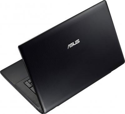 Ноутбук Asus X751LD-TY005D - вид сзади