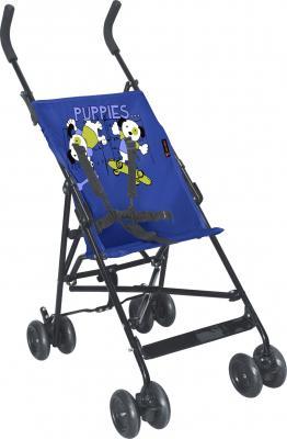 Детская прогулочная коляска Lorelli Flash (Blue Puppies) - общий вид