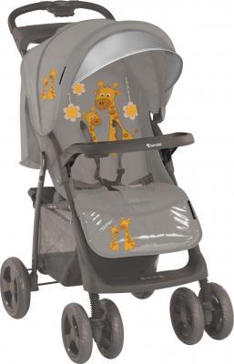 Детская прогулочная коляска Lorelli Foxy (Beige Girafess) - общий вид
