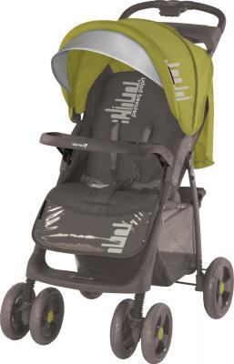 Детская прогулочная коляска Lorelli Foxy (Beige Green Belloved) - общий вид