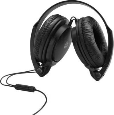 Наушники-гарнитура HP H2500 Headset (A2Q79AA) - в сложенном виде