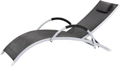 Шезлонг Sundays Brigo 770505A (черный) - общий вид