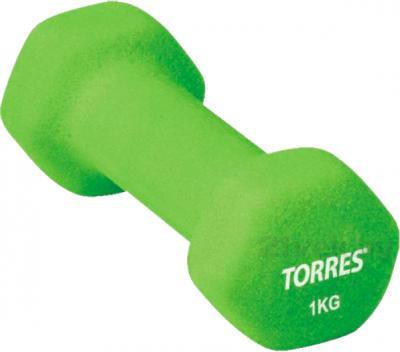 Гантель Torres PL50011 (Green) - общий вид