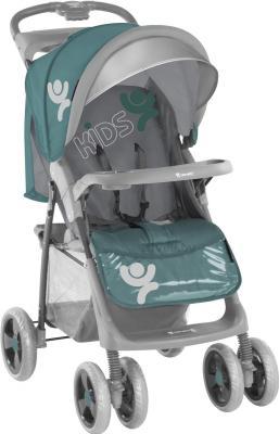 Детская прогулочная коляска Lorelli Foxy (Green-Gray Kids) - общий вид